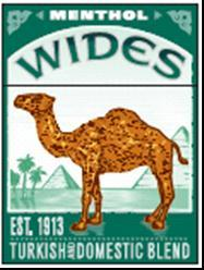 CAMEL WIDE MENTHOL BOX KS