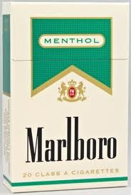 MARLBORO MENTHOL GOLD PACK BOX