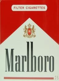 MARLBORO RED LABEL BOX