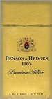 BENSON & HEDGES 100'S BOX
