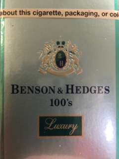 BENSON & HEDGES 100'S LUXURY MEN BX
