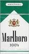 MARLBORO MENTHOL GOLD PACK BOX 100