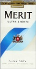 MERIT BLUE PACK 100'S SOFT