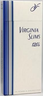 VIRG SLIMS SILVER PACK BOX 100