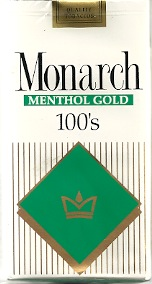 MONARCH MENTHOL GOLD 100
