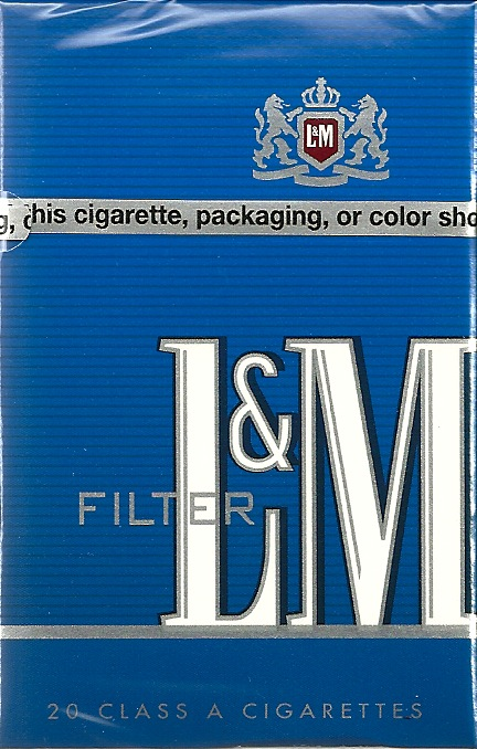 L&M BLUE PACK BOX