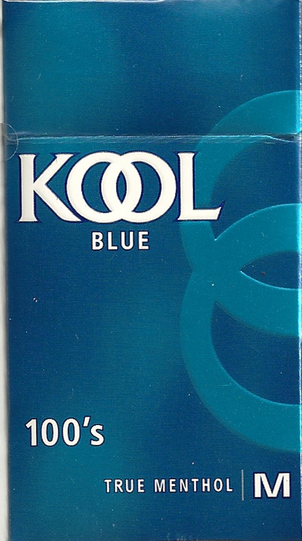 KOOL BLUE 100 BOX MEN (MILD)