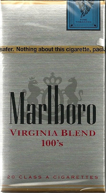 MARLBORO VIRGINIA BLEND 100S BOX