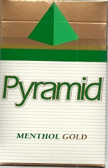 PYRAMID MENTHOL GOLD BOX KS