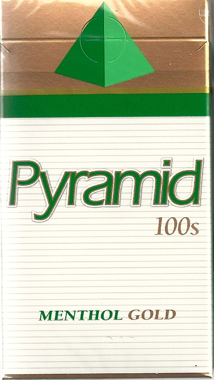 PYRAMID MENTHOL GOLD BOX 100