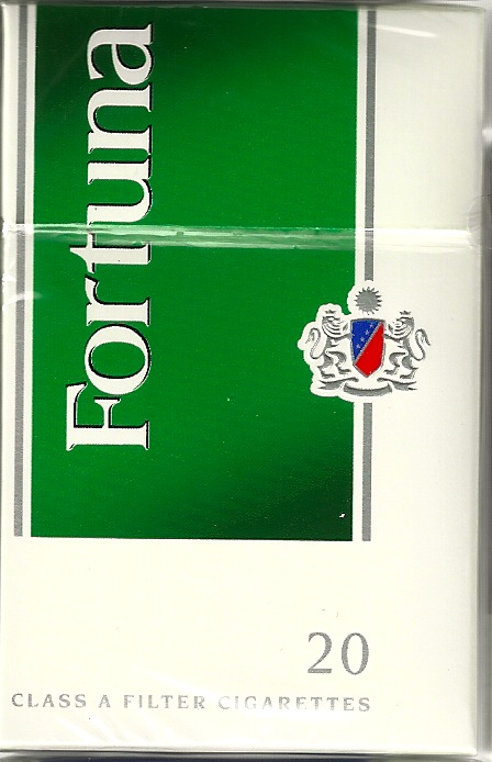 FORTUNA MENTHOL GREEN BOX KS
