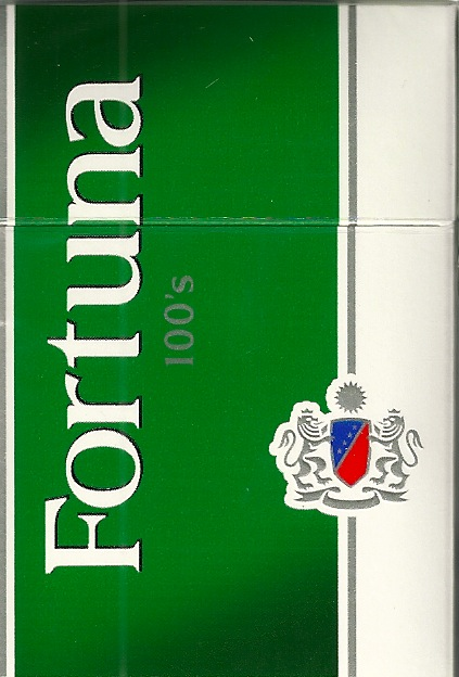 FORTUNA MENTHOL DARK GREEN BOX 100