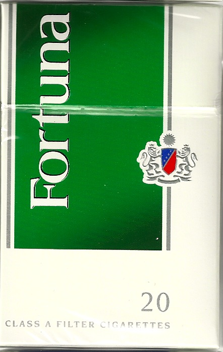 FORTUNA MENTHOL DARK GREEN BOX KS