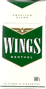 WINGS MENTHOL BOX 100