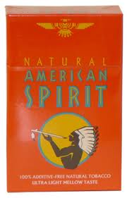 AMERICAN SPIRIT ULTRA LT BOX(ORANGE