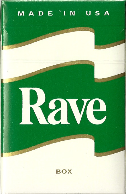 RAVE MENTHOL DARK GREEN KING BOX
