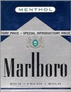 MARLBORO MENTHOL BLUE PACK BOX