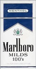 MARLBORO MENTHOL BLUE PACK BOX 100