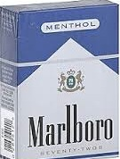 MARLBORO MENTHOL RICH BLUE BOX