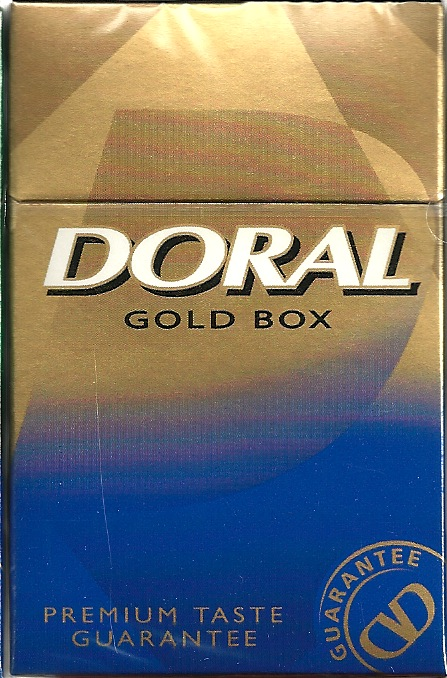 DORAL GOLD 85 BOX MEN