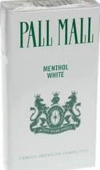 PALL MALL MENTHOL WHITE 83 BOX KS