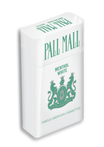 PALL MALL MENTHOL WHITE 100 BOX