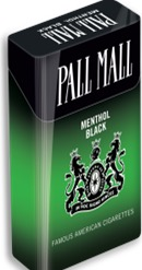 PALL MALL MENTHOL BLACK 83 BOX KS