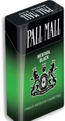 PALL MALL MENTHOL BLACK 100 BOX