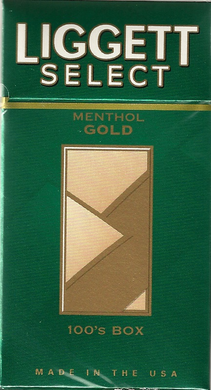 LIGGETT SELECT MENTHOL GOLD BX