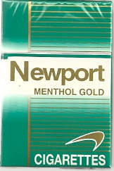 NEWPORT MENTHOL GOLD KINGS (LT)
