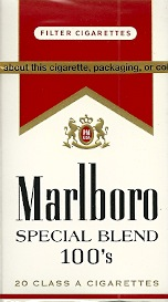 MARLBORO SPECIAL BLEND RED BOX 100