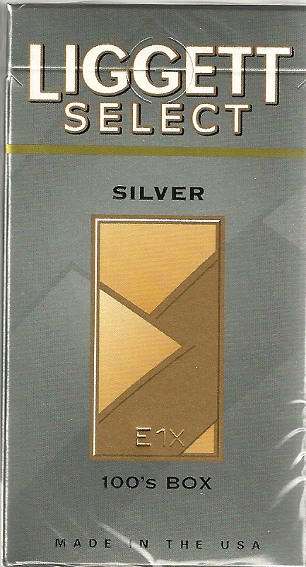 LIGGETT SELECT SILVER BOX 100