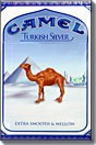 CAMEL TURKISH SILVER BOX KS
