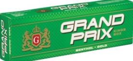 GRAND PRIX MENTHOL GOLD BX KS