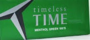 TIME MENTHOL GREEN BOX KS