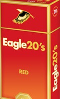 EAGLE 20'S RED BOX 100