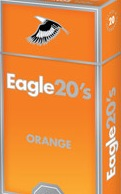 EAGLE 20'S ORANGE BOX 100