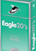 EAGLE 20'S MENTHOL SILVER BOX KS