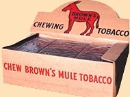 BROWN MULE PLUG BOX/15