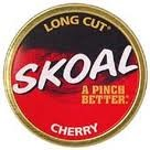 SKOAL LONG CUT CHERRY ROLL/5