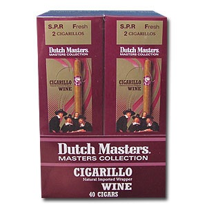 DUTCH MASTER CIGARILLO WINE FOIL40
