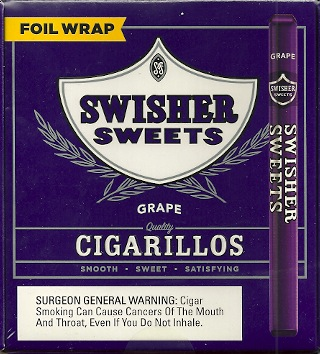 SWISHER SWEET CIG GRAPE BOX/60