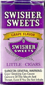 SWISHER SWEET LIL CGR GRAPE CTN