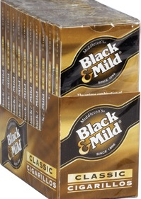 BLACK & MILD CIGARILLO 10/5 PK