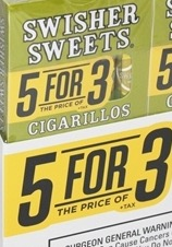 SWISHER SWEET CIGARILLO 5FOR 3 W/GRP