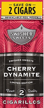 SWISHER SWEET CIG CHERRY DYNAMITE 2/99