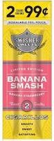 SWISHER SWEET CIG BANANA SMASH 2/99