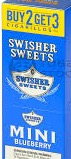 SWISHER SWEET CIG MINIS BLBRY 3FOR2