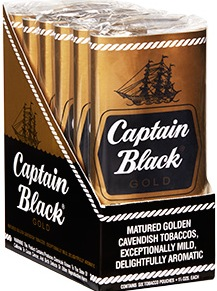 CAPTAIN BLACK GOLD PAK 6