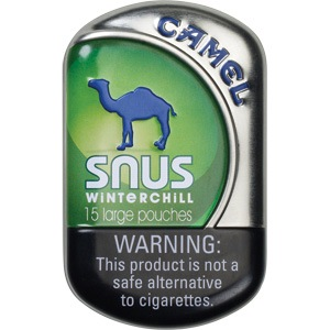 CAMEL SNUS WINTERCHILL BOX/5